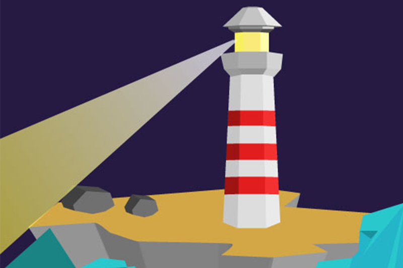 Leuchtturm Illustration Lighthouse